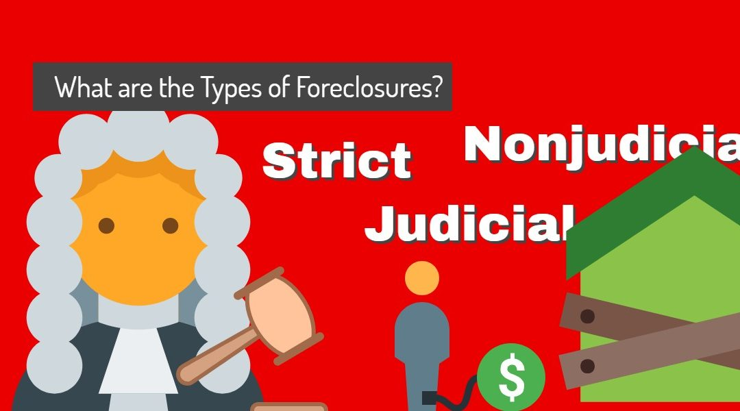 All About Mortgages: What are the Types of Foreclosures?