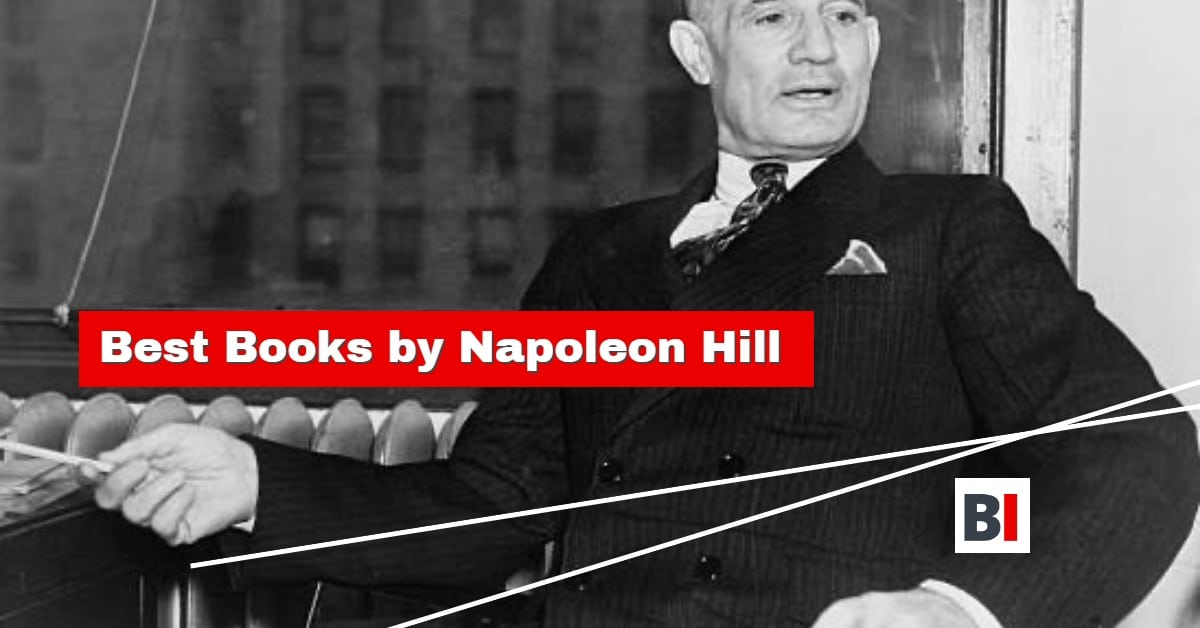 Best Books by Napoleon Hill