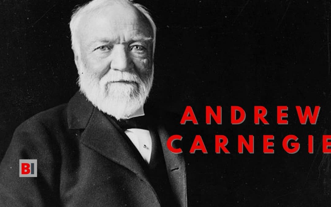 5 Best Books by Andrew Carnegie