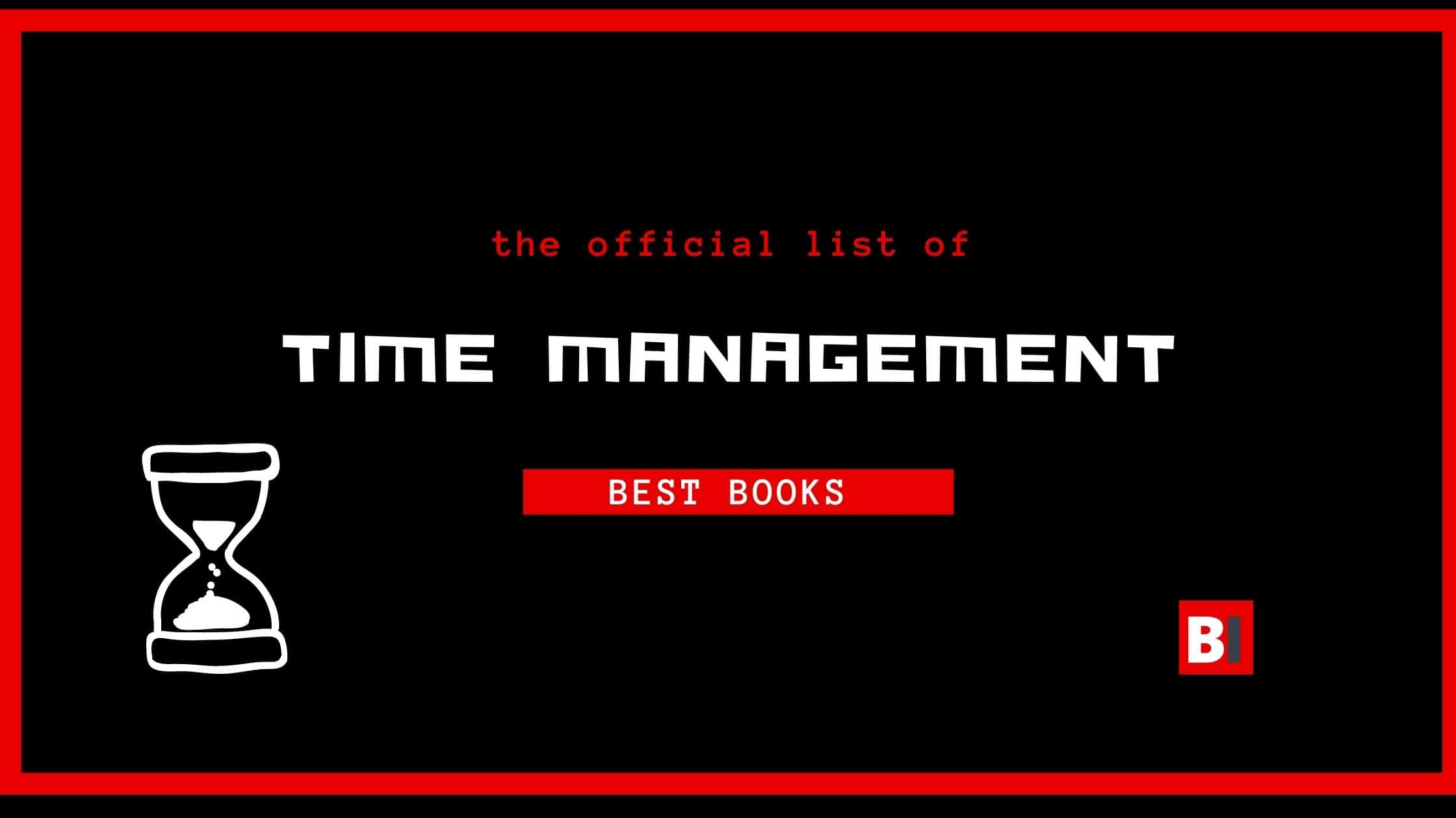 Best Books on Time Management
