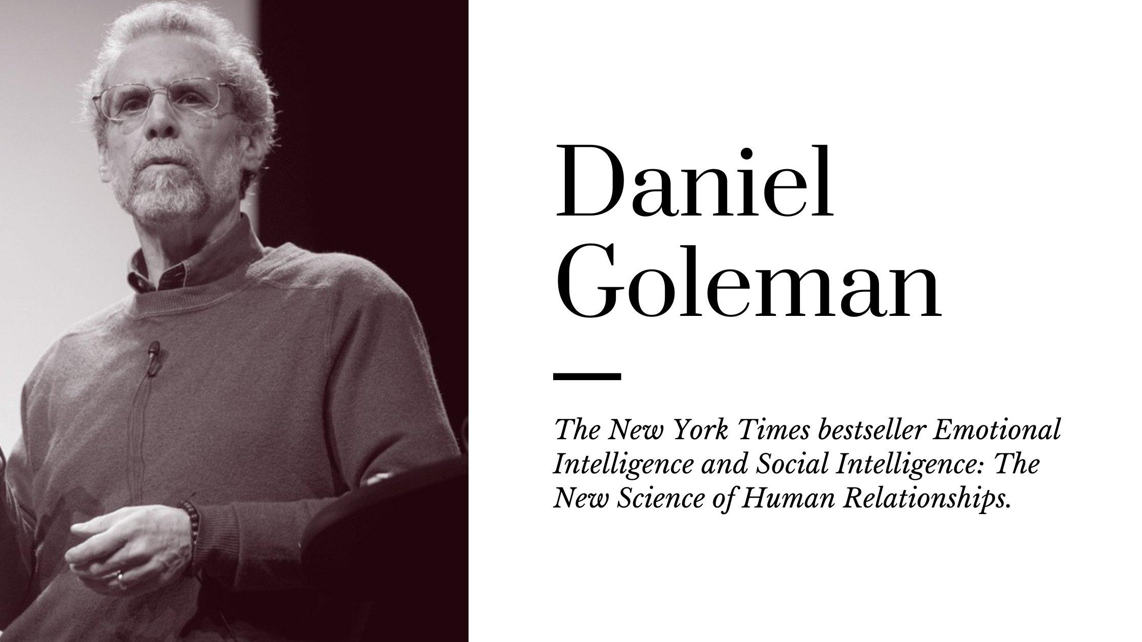 Best Books Written By Daniel Goleman