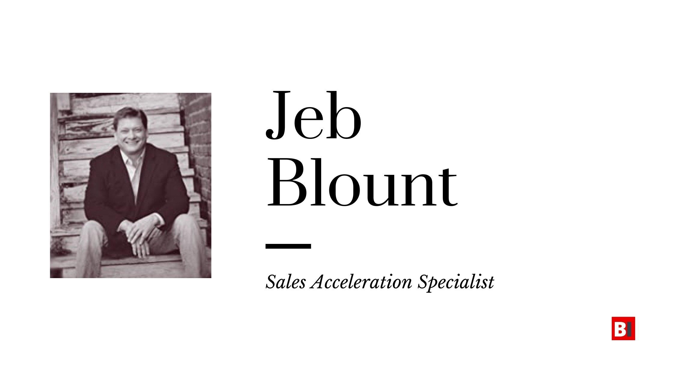 Best Books Written By Jeb Blount