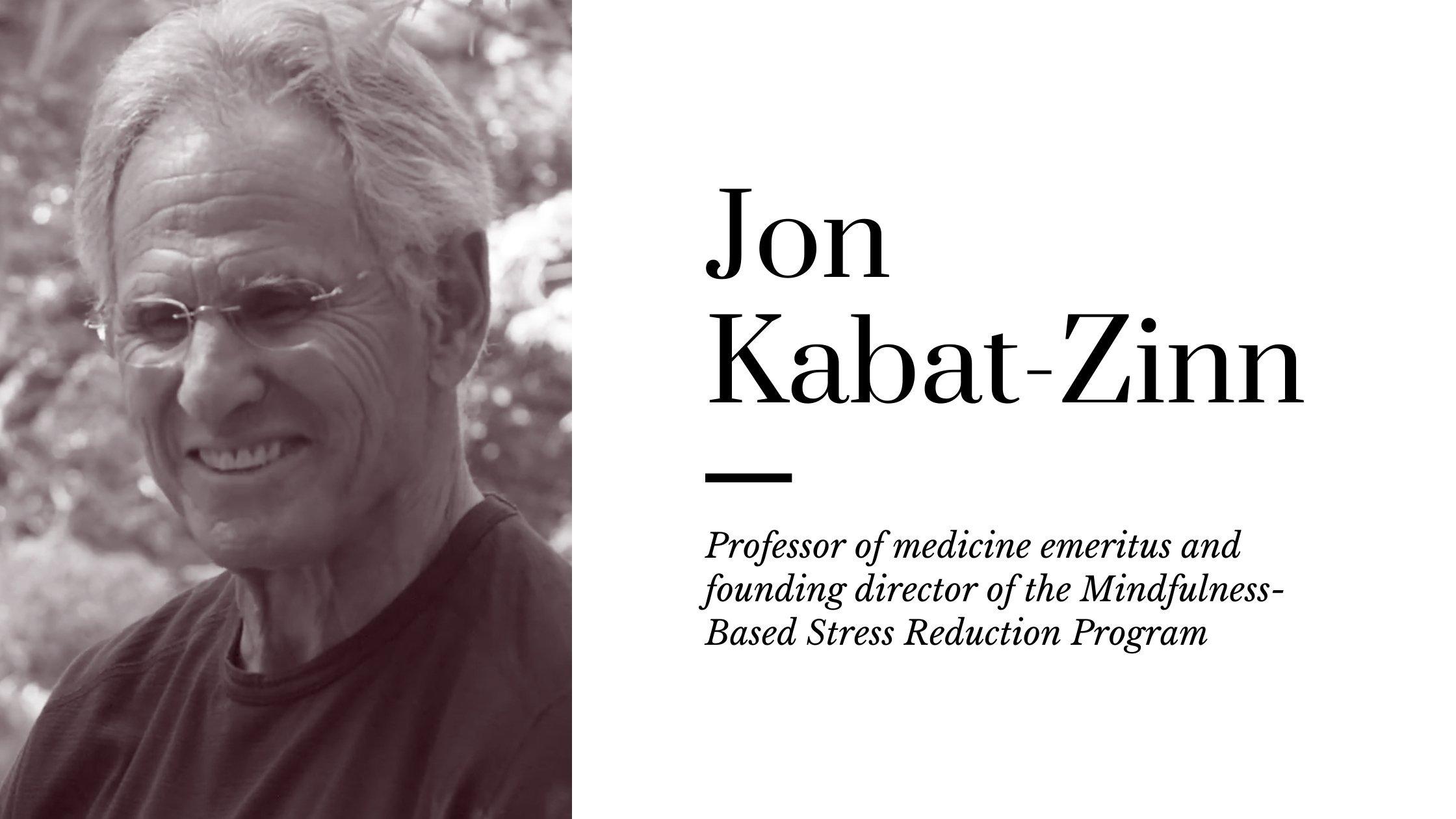 Best Books Written By Jon Kabat-Zinn