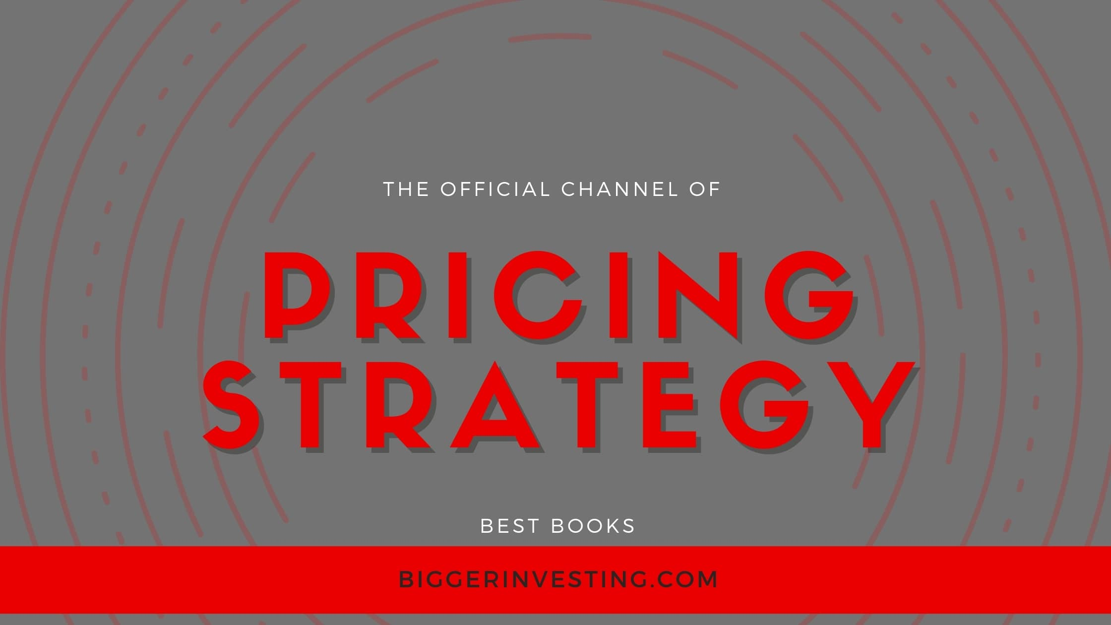 Best Books on Pricing Strategy
