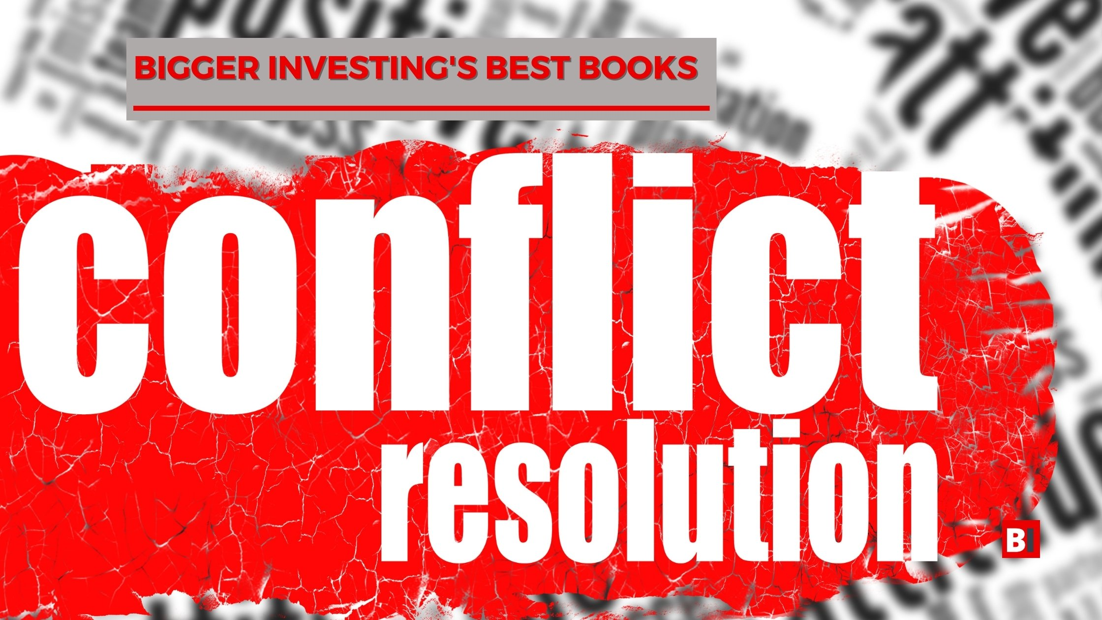 Best Books on Conflict Resolution
