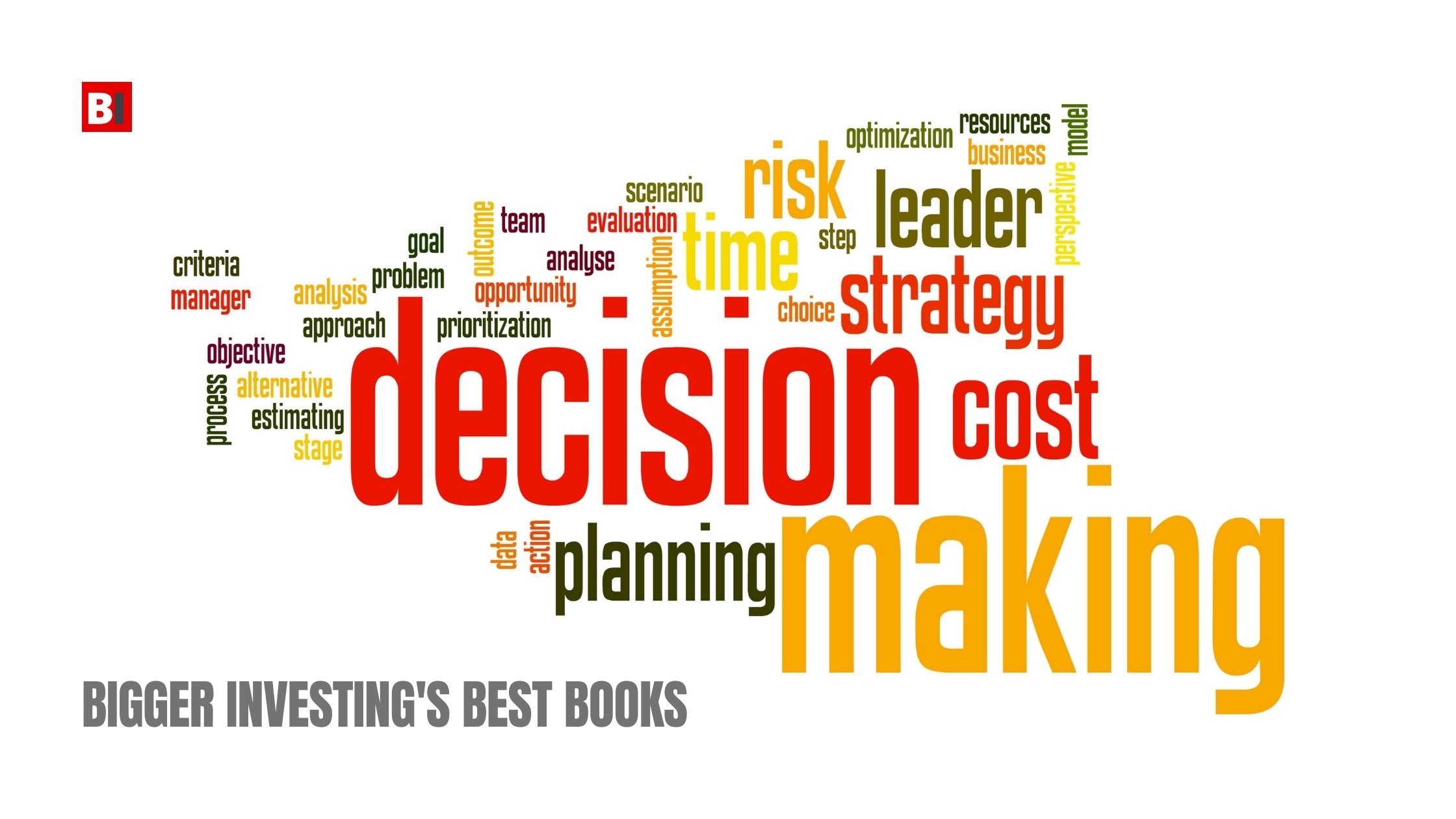 Best Books on Decision Making
