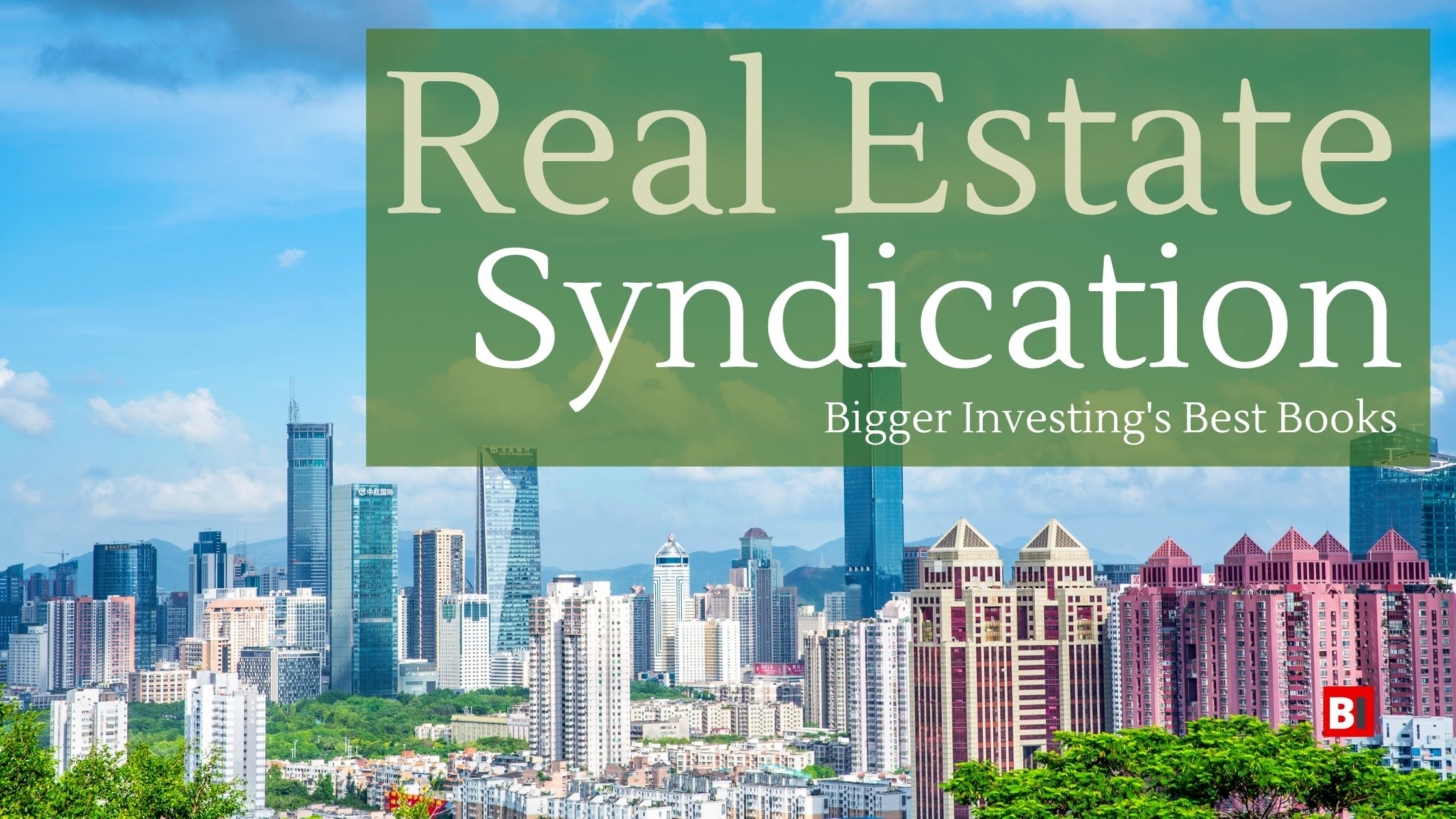 Best Books on Real Estate Syndication