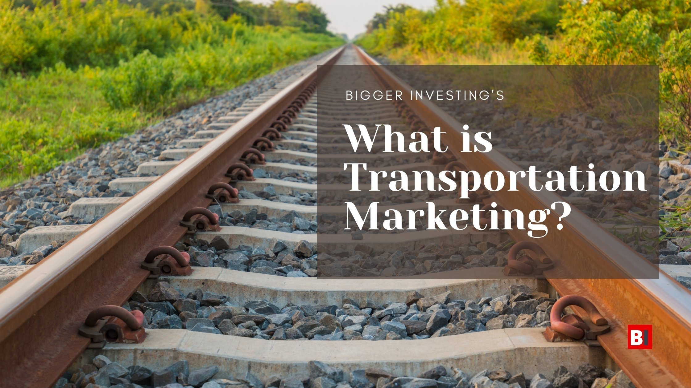 What is Transportation Marketing?