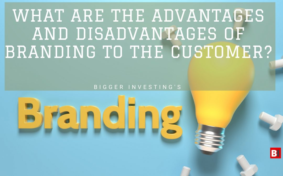 What Are The Advantages and Disadvantages of Branding to the Customer?