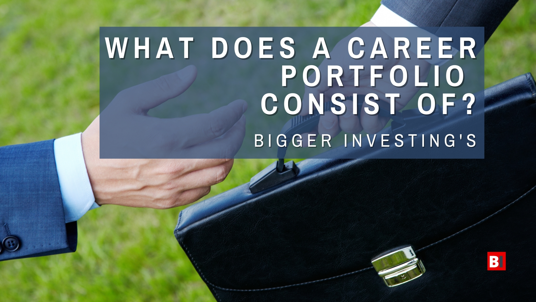 What Does a Career Portfolio Consist of?