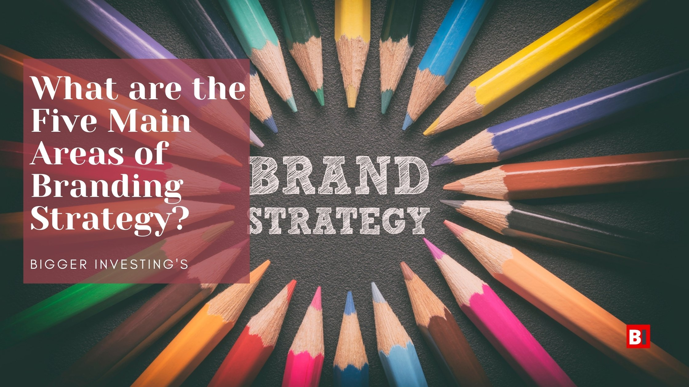 What are the Five Main Areas of Branding Strategy?