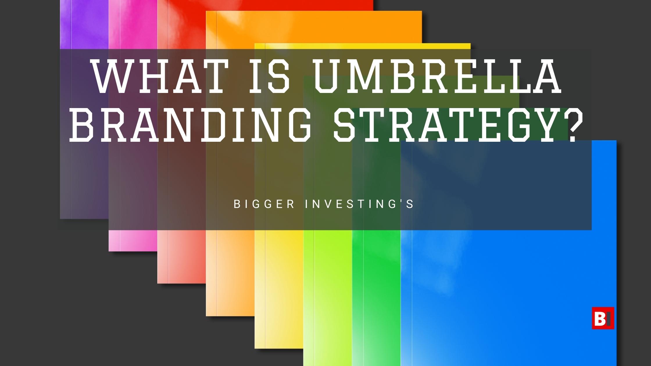 What is Umbrella Branding Strategy?