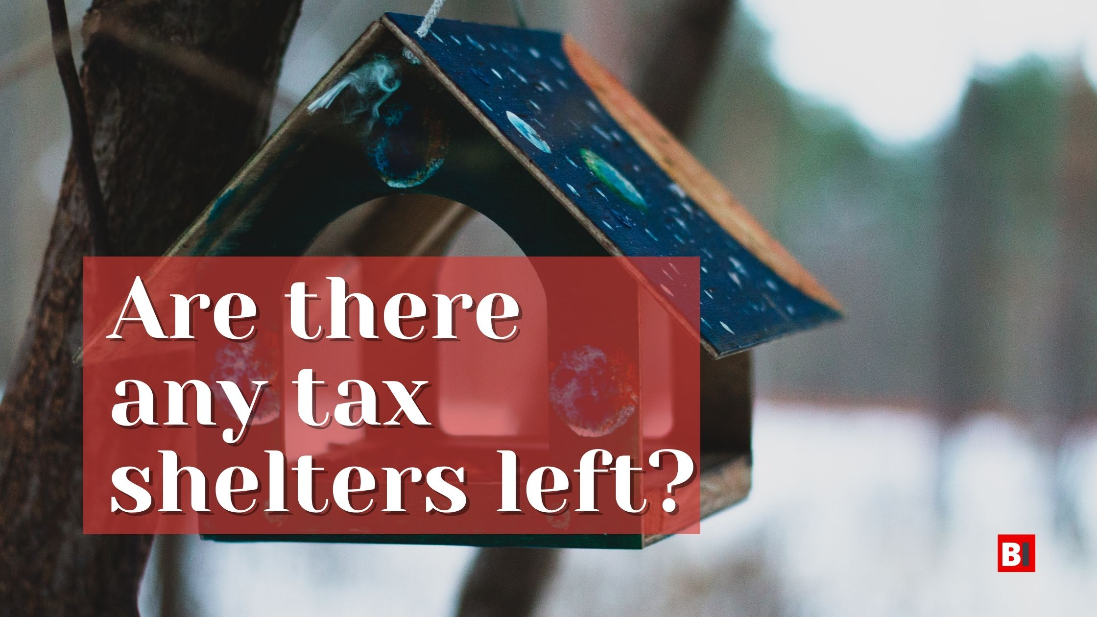 are there any tax shelters left?