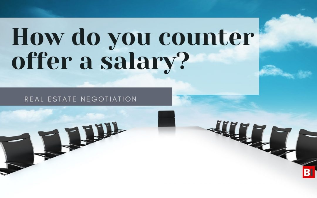 How Do You Counter Offer a Salary?