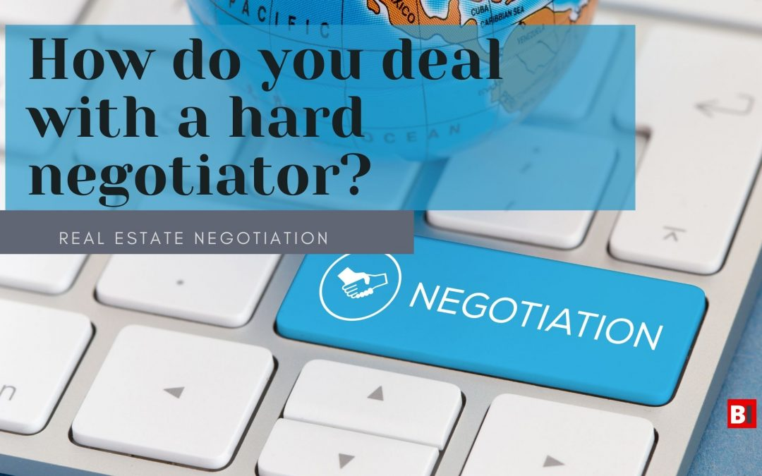 How Do You Deal with a Hard Negotiator?