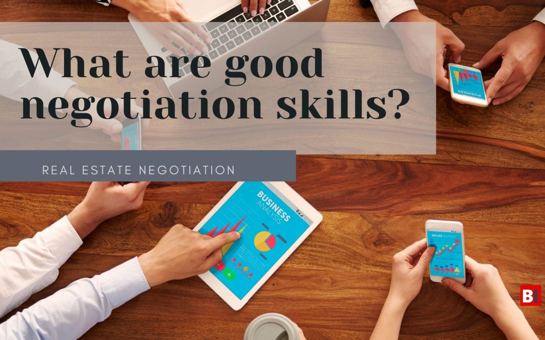 What are Good Negotiation Skills?